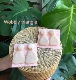 Katy Sperry Katy Sperry Wobbly Triangle Earrings