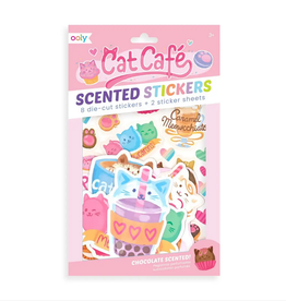Ooly Ooly | Cat Cafe Scented Stickers
