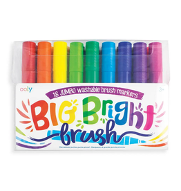 Ooly Ooly | Big Bright Brush Markers