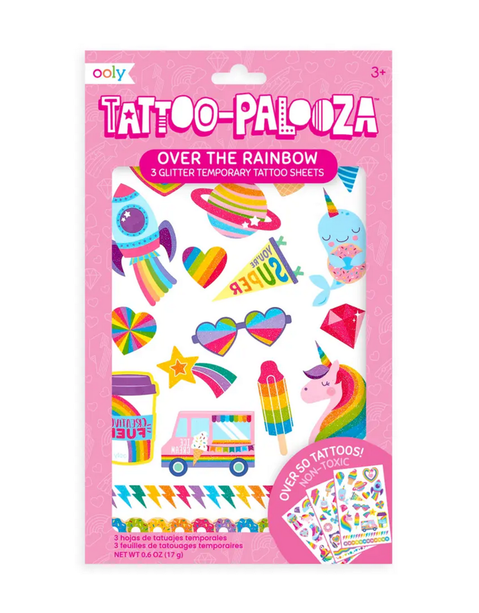 Ooly Ooly | Temporary Tattoos: Over The Rainbow