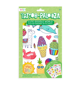 Ooly Ooly | Temporary Tattoos: Cute Doodle World