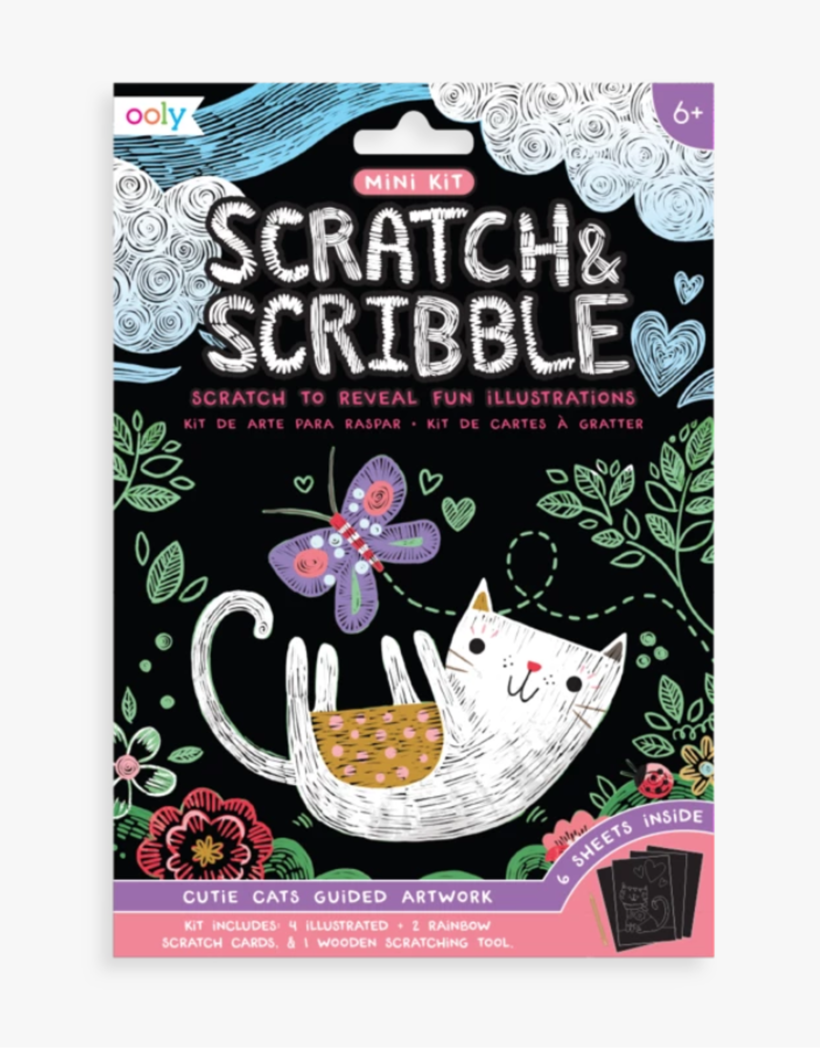 Ooly Ooly | Scratch and Scribble: Cutie Cats