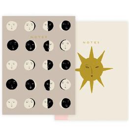 Seedlings Seedlings | Moon Phases Notebook Set