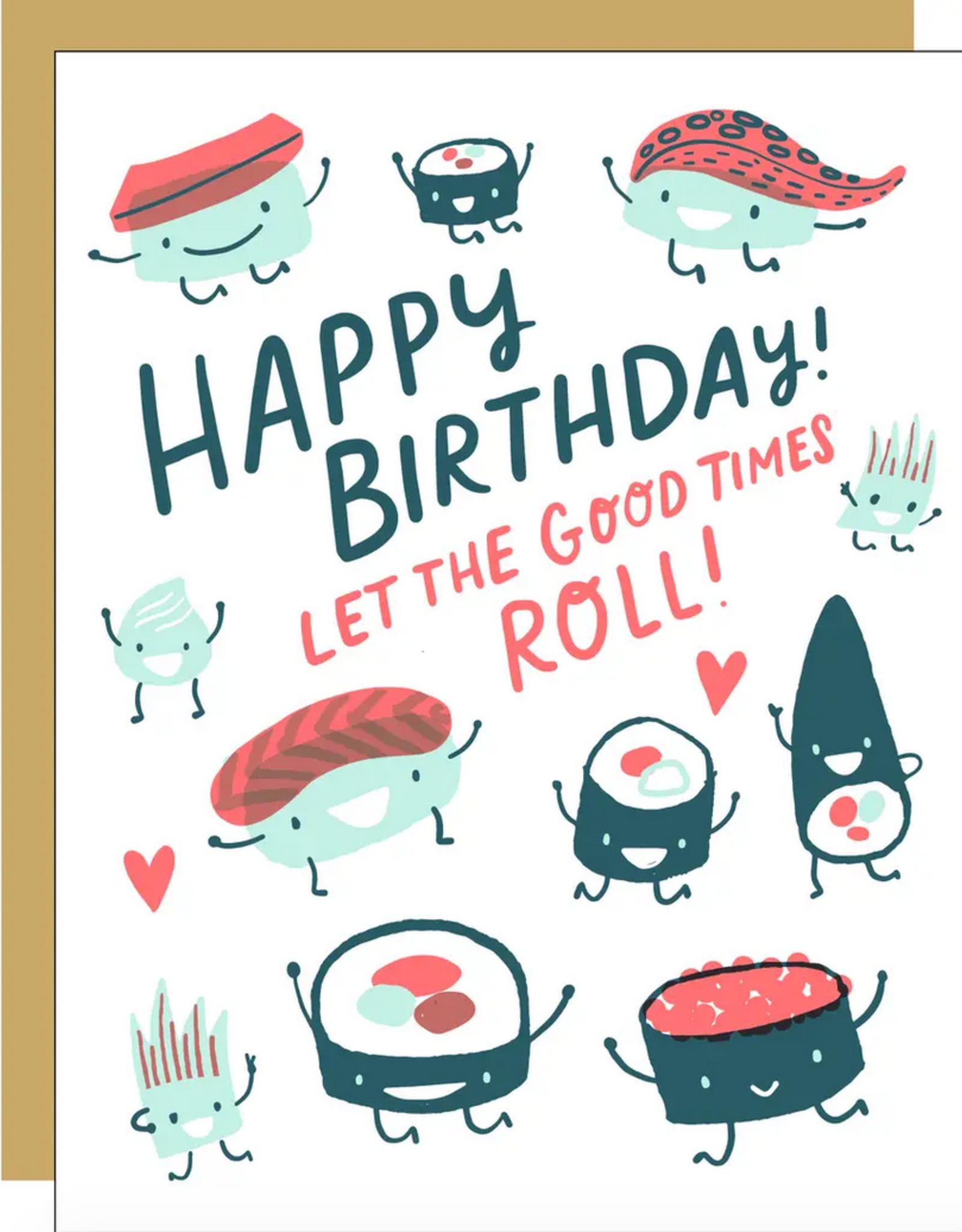 Egg Press Egg Press | Sushi Roll Card