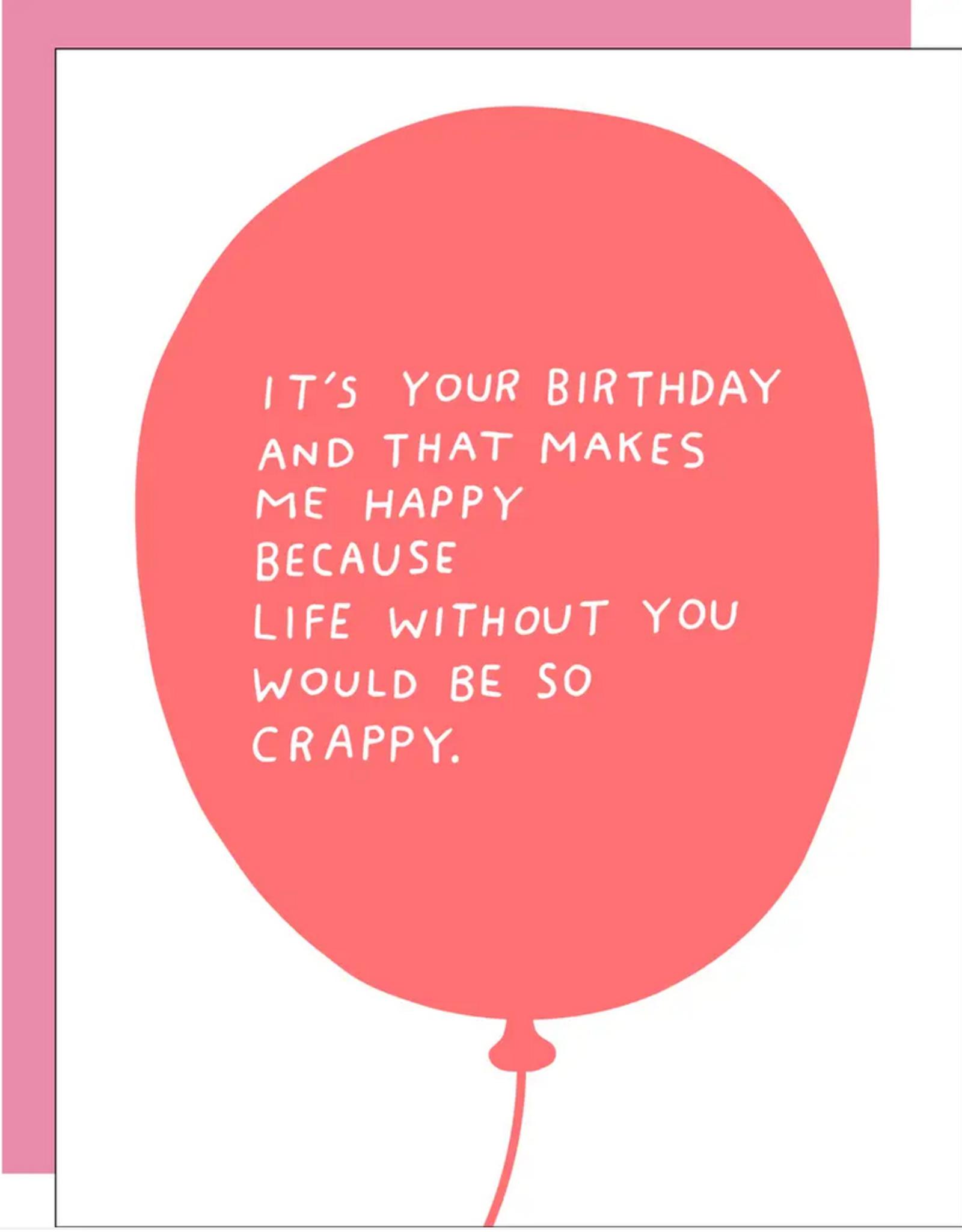 Egg Press Egg Press   Birthday Balloon Card