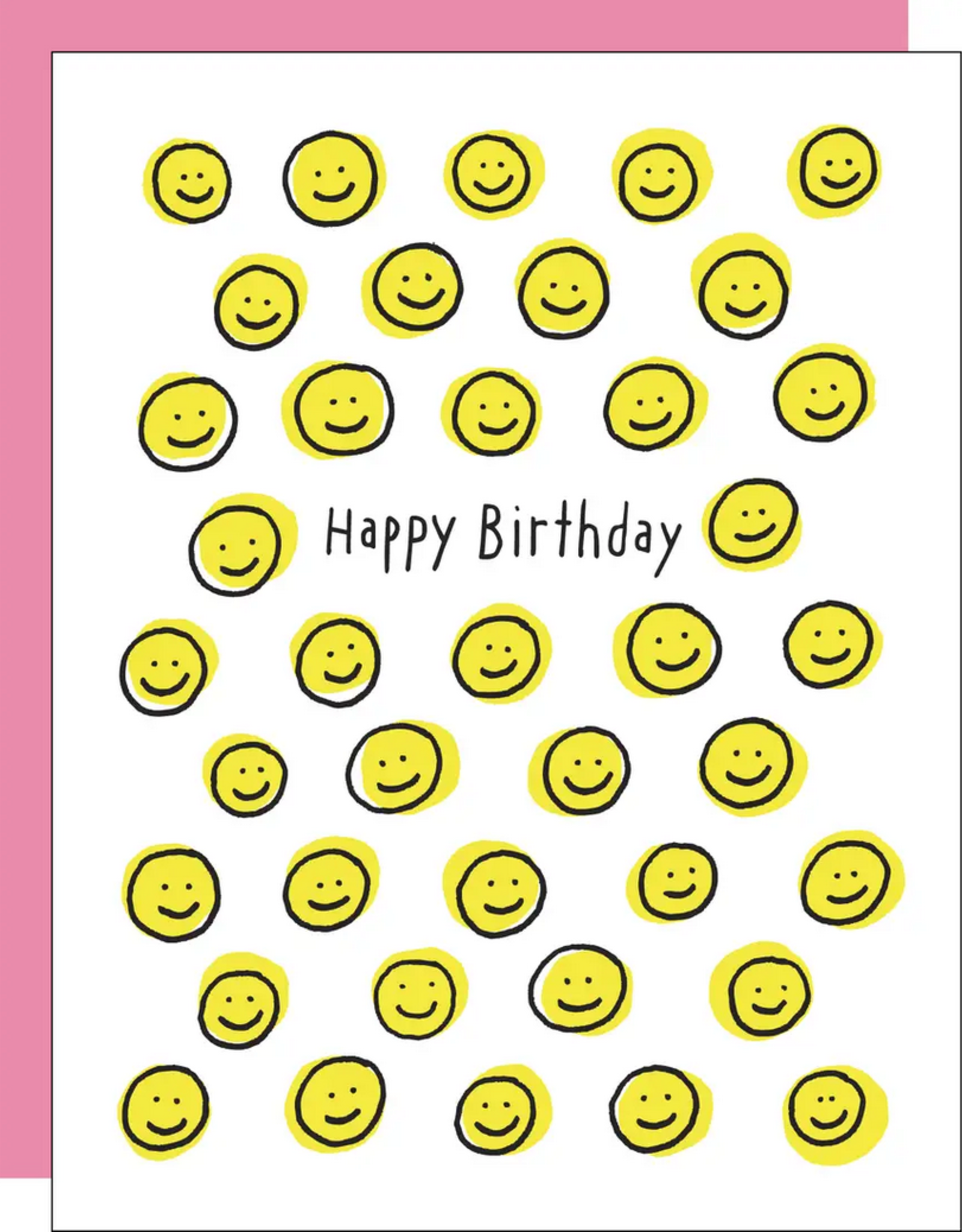 Egg Press Egg Press | Happy Face Birthday Card