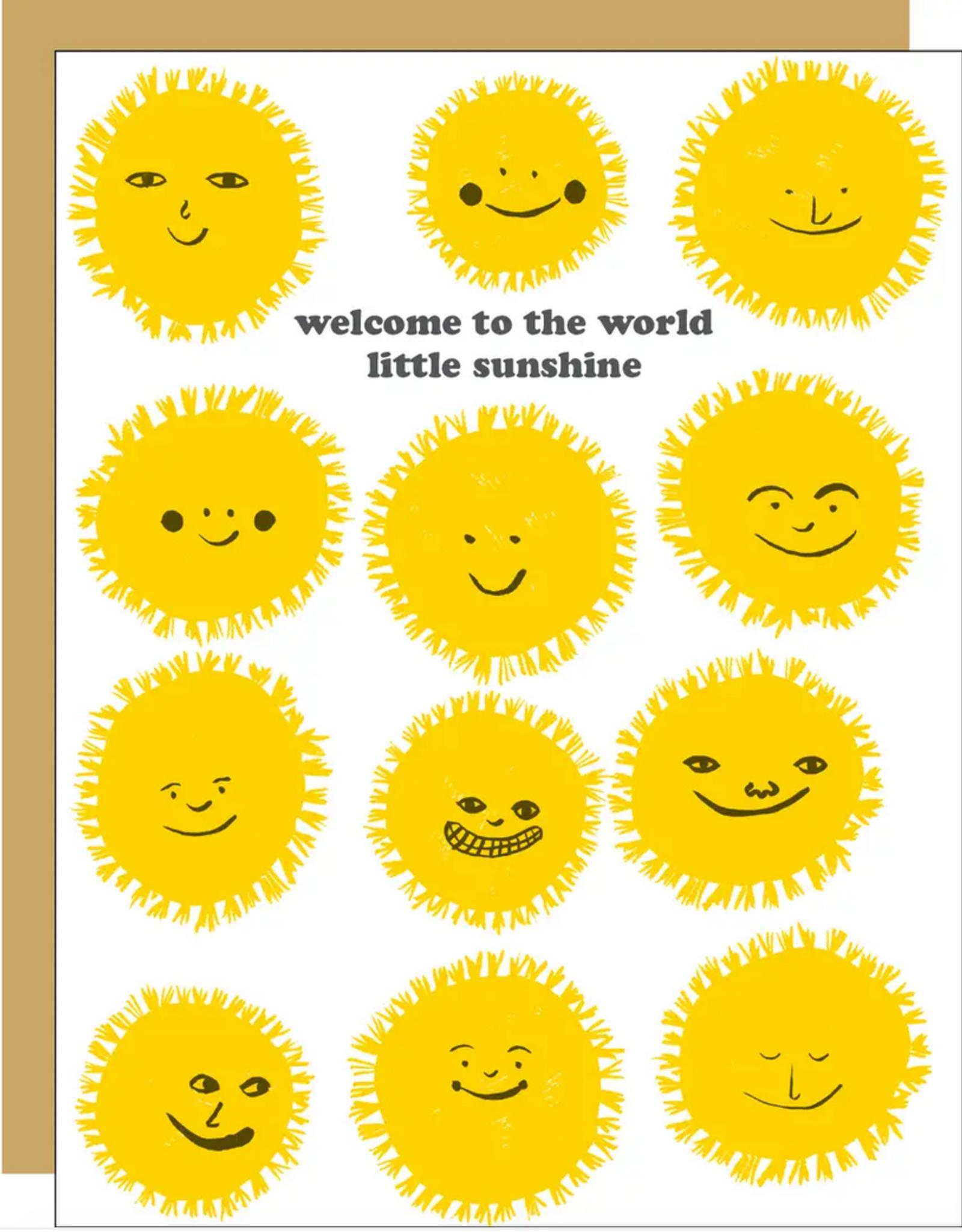 Egg Press Egg Press   Welcome Sunshine Card