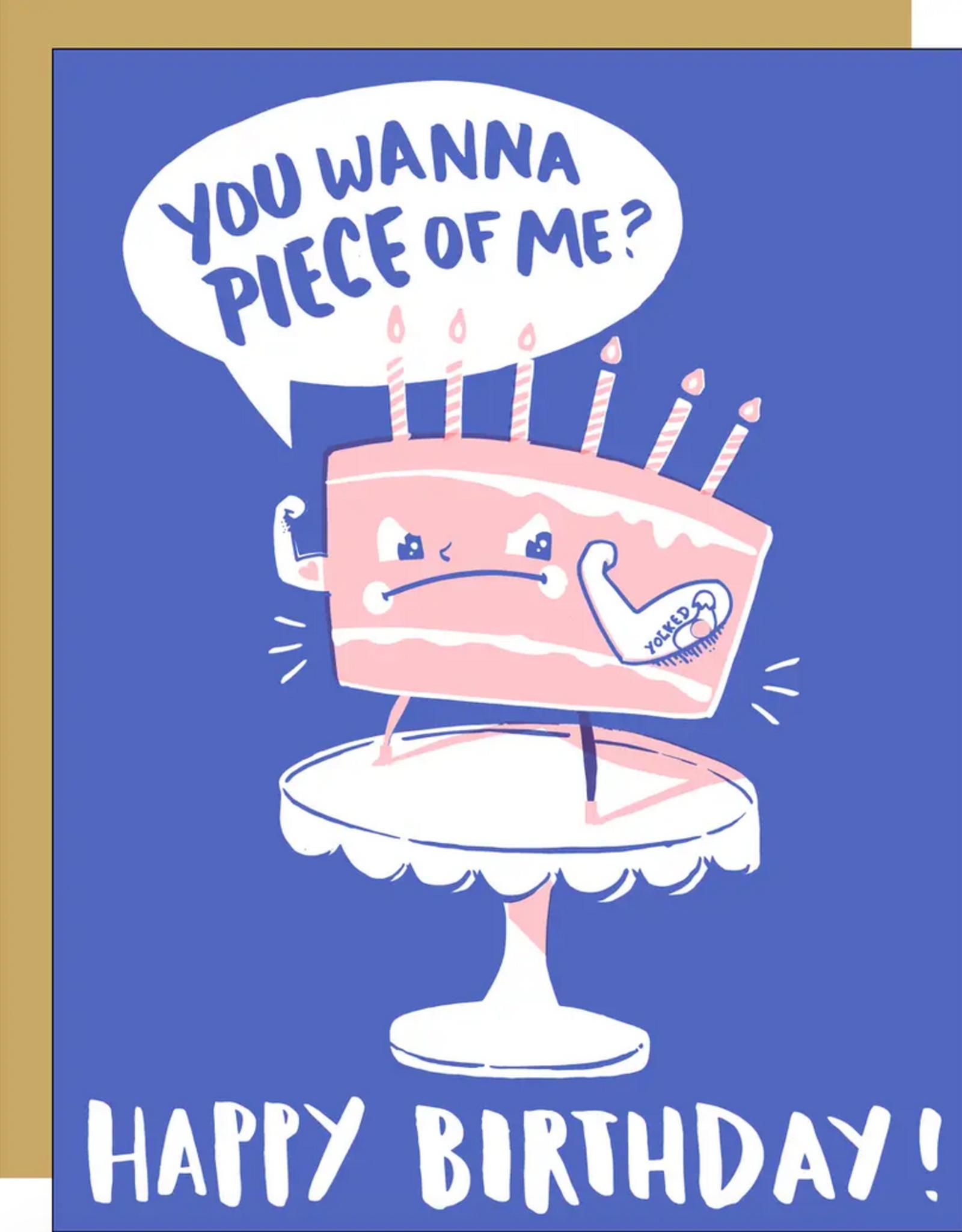 Egg Press Egg Press | Yolked Birthday Card