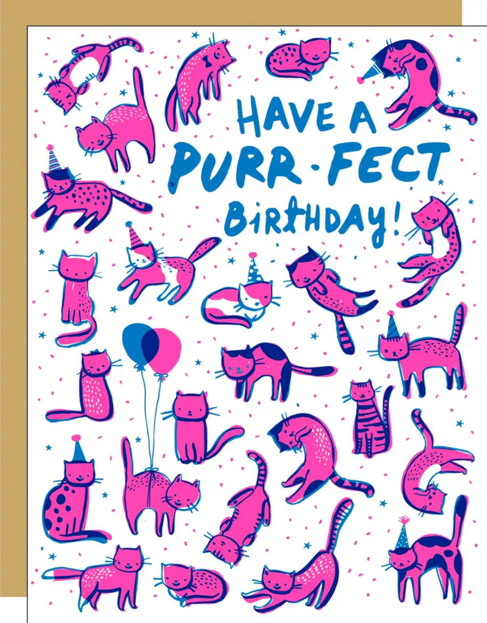 Egg Press Egg Press | Purr-fect Birthday Card