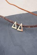 Amsha Amsha | Triangle Studs