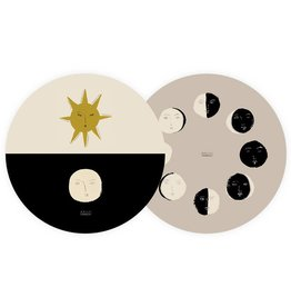 Seedlings Seedlings | Moon Phases Coaster Set (6)