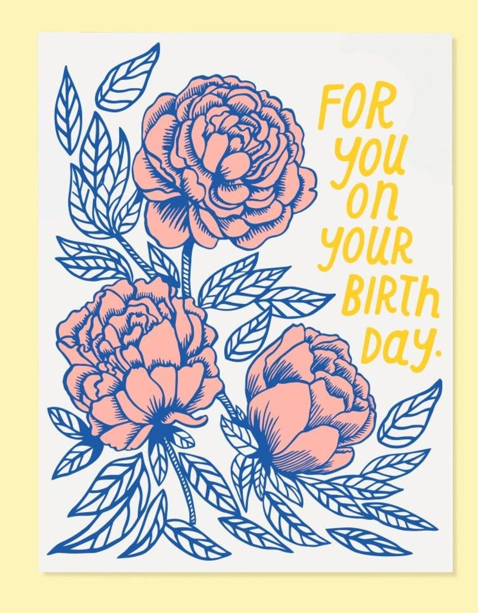 The Good Twin The Good Twin | Birthday Rose Card