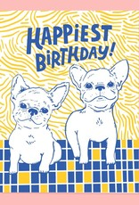 The Good Twin The Good Twin | Frenchie Bday Card