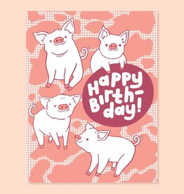 The Good Twin The Good Twin | Piggy Bday Card