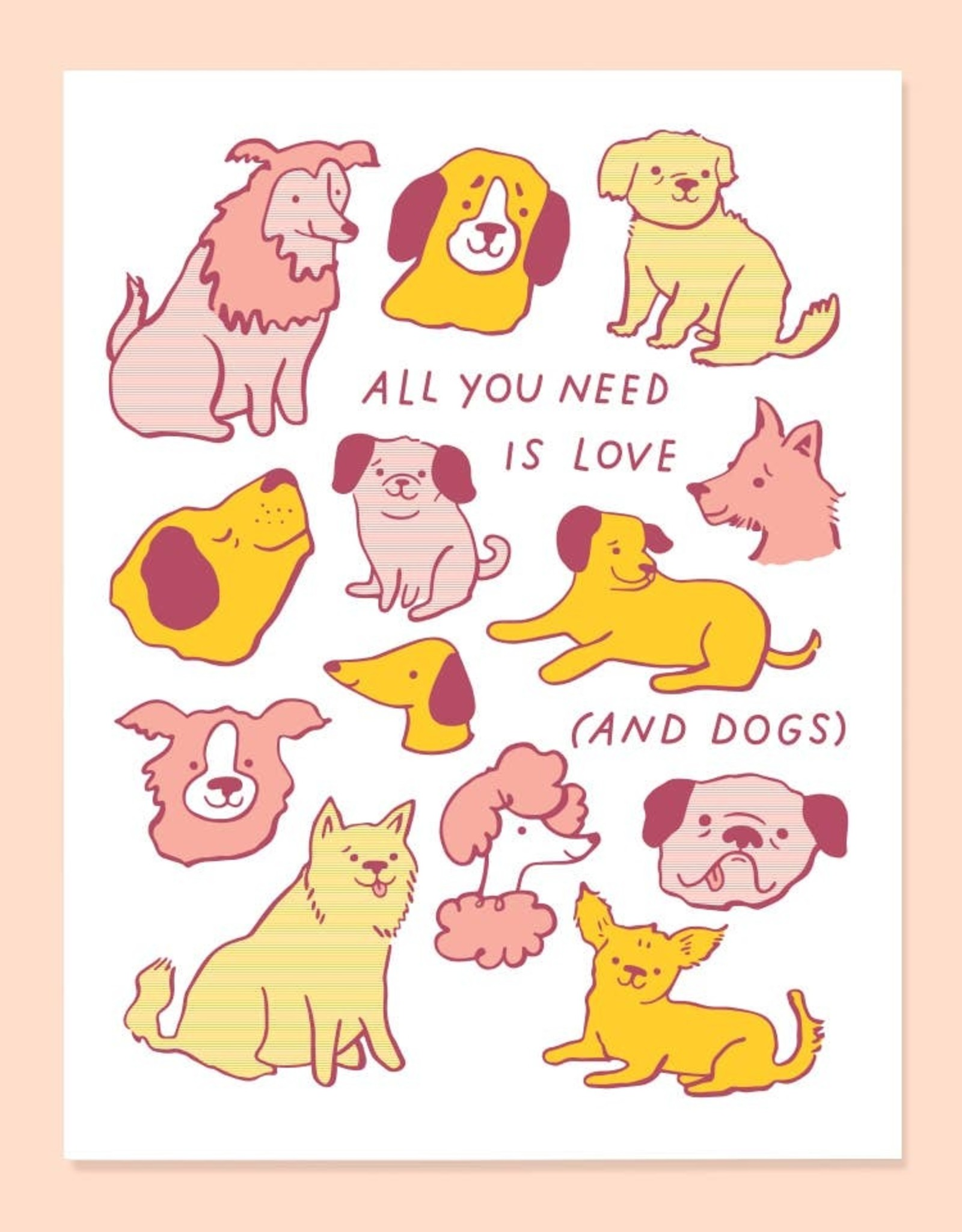 The Good Twin The Good Twin | Love and Dogs Card