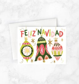 Idlewild Co. Feliz Ornaments Card