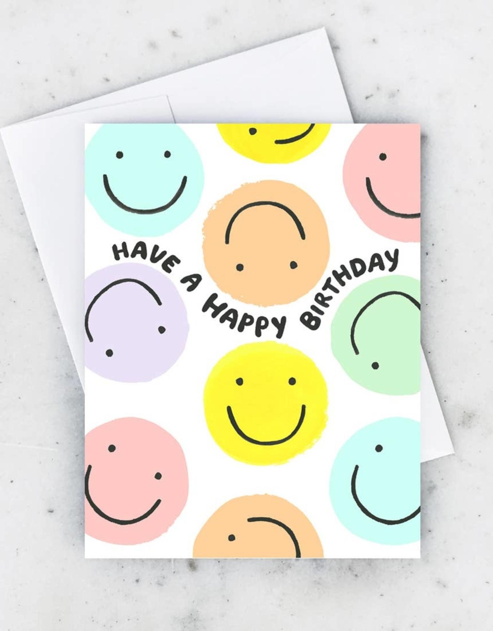 Idlewild Co. Idlewild Co.   Smiley Birthday Card