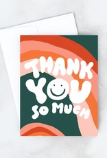 Idlewild Co. Idlewild Co. | Wavy Thank You Card (Boxed of 8)