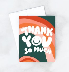 Idlewild Co. Wavy Thank You Card (Boxed of 8)