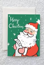 Idlewild Co. Idlewild Co. | Retro Santa Card (Boxed of 8)