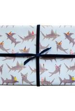 Mr. Boddington's Mr. Boddington's   School of Shark Wrapping Sheet