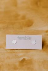 Tumble Tumble | Silver Daisy Studs