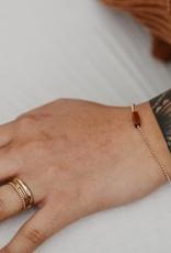 Tumble Tumble |  Goldstone Bracelet