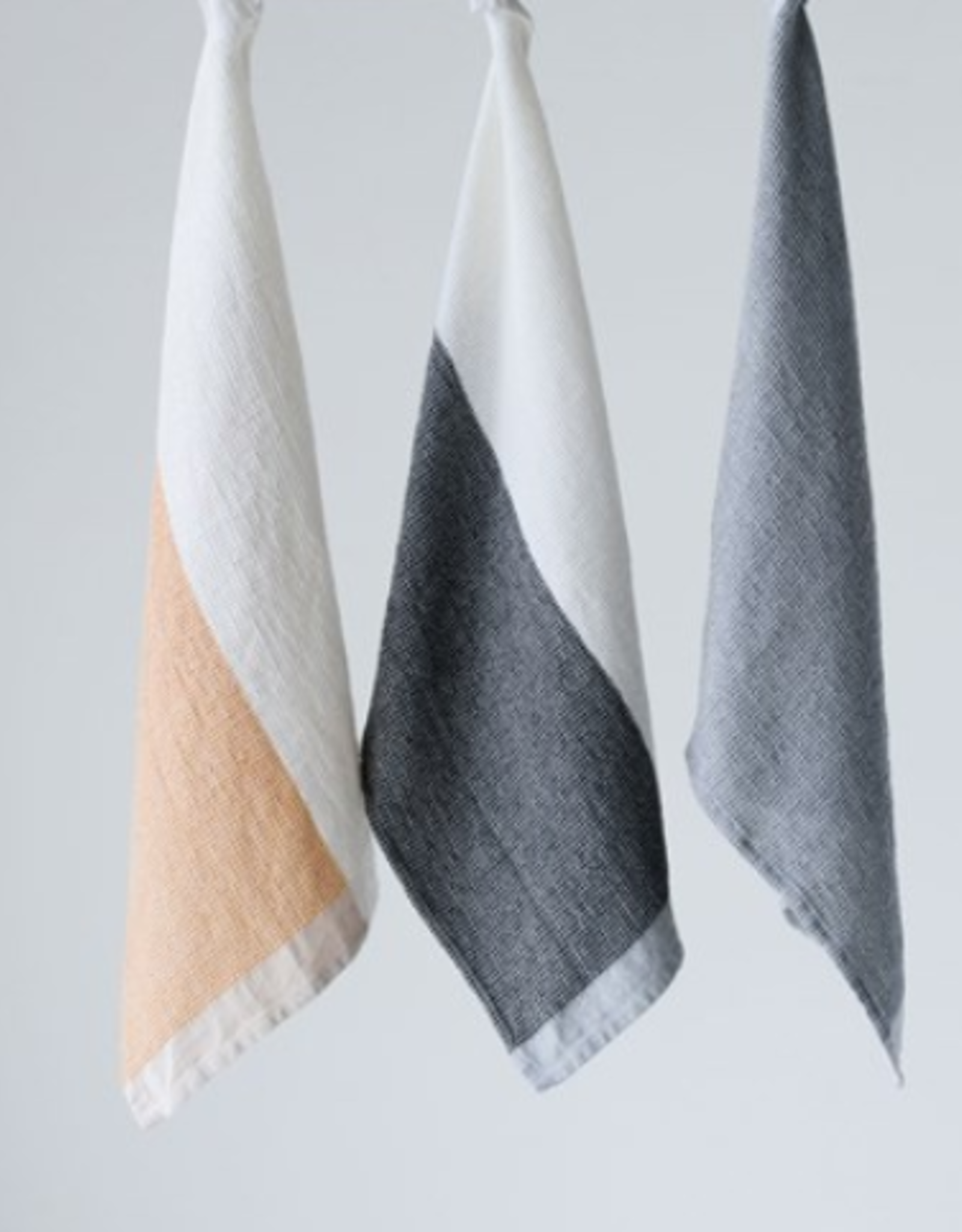Colorblock Cotton Tea Towels (set of 3)