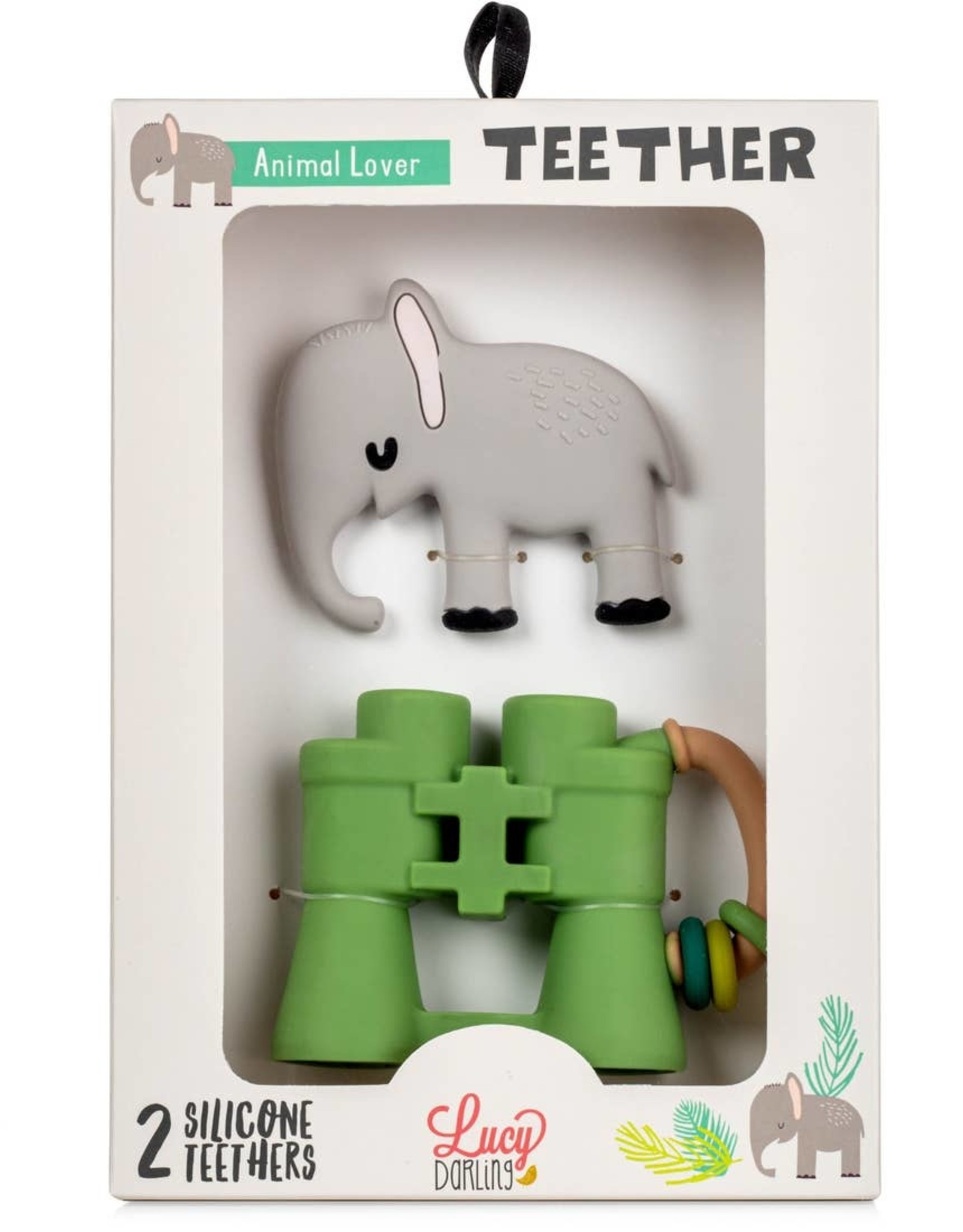 Lucy Darling Lucy Darling   Animal Lover Teether Toy