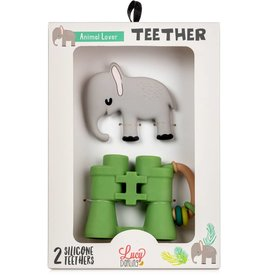 Lucy Darling Lucy Darling | Animal Lover Teether Toy