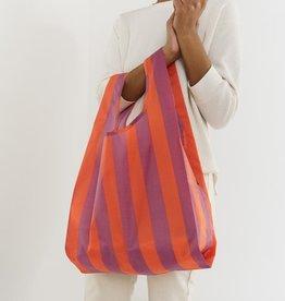 Baggu Baggu | Standard - Orange and Mauve Stripe