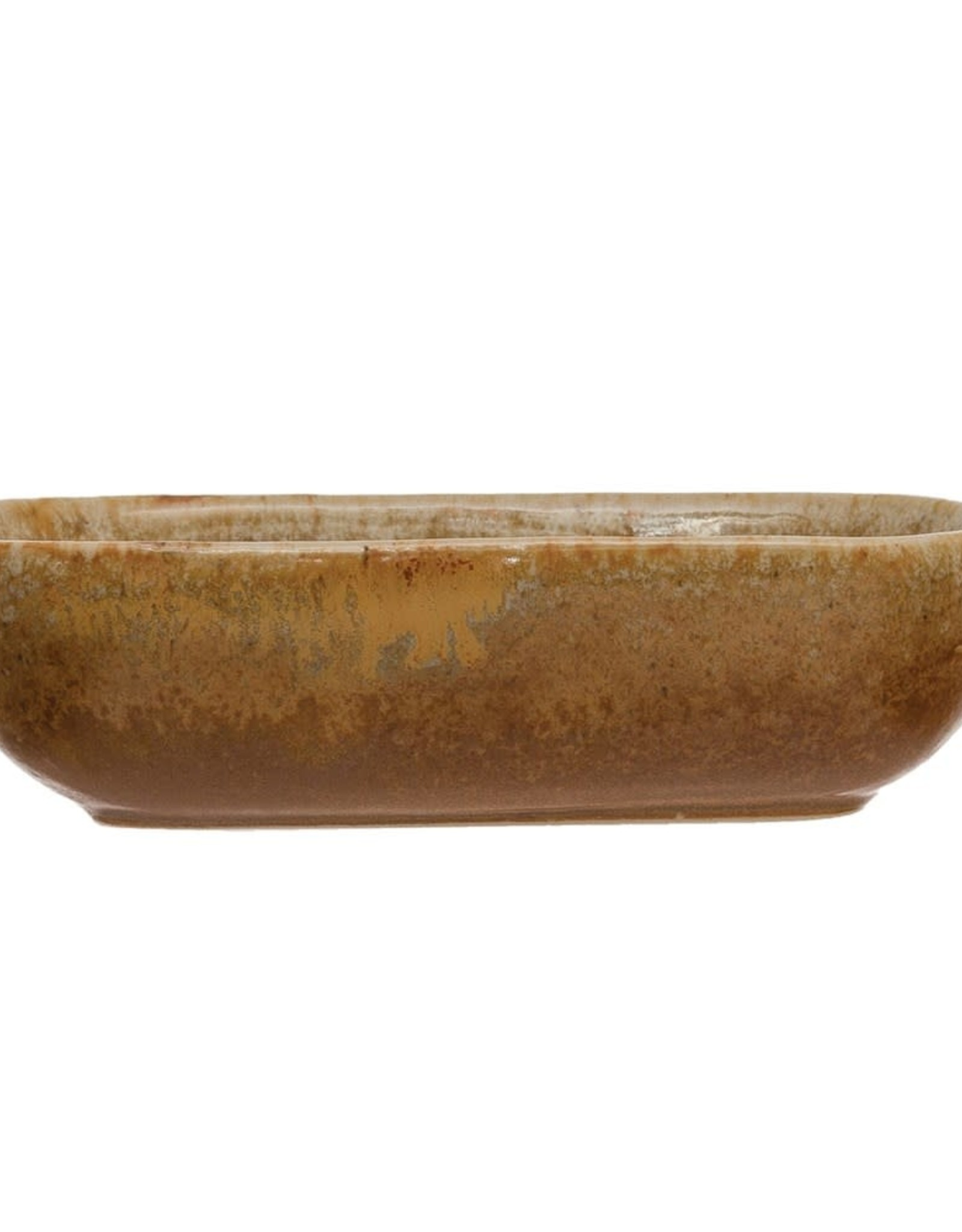 Mustard Stoneware Mini Dish