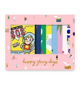 Facefactory Facefactory Happy Glowy Days Sheet Mask  Gift Set