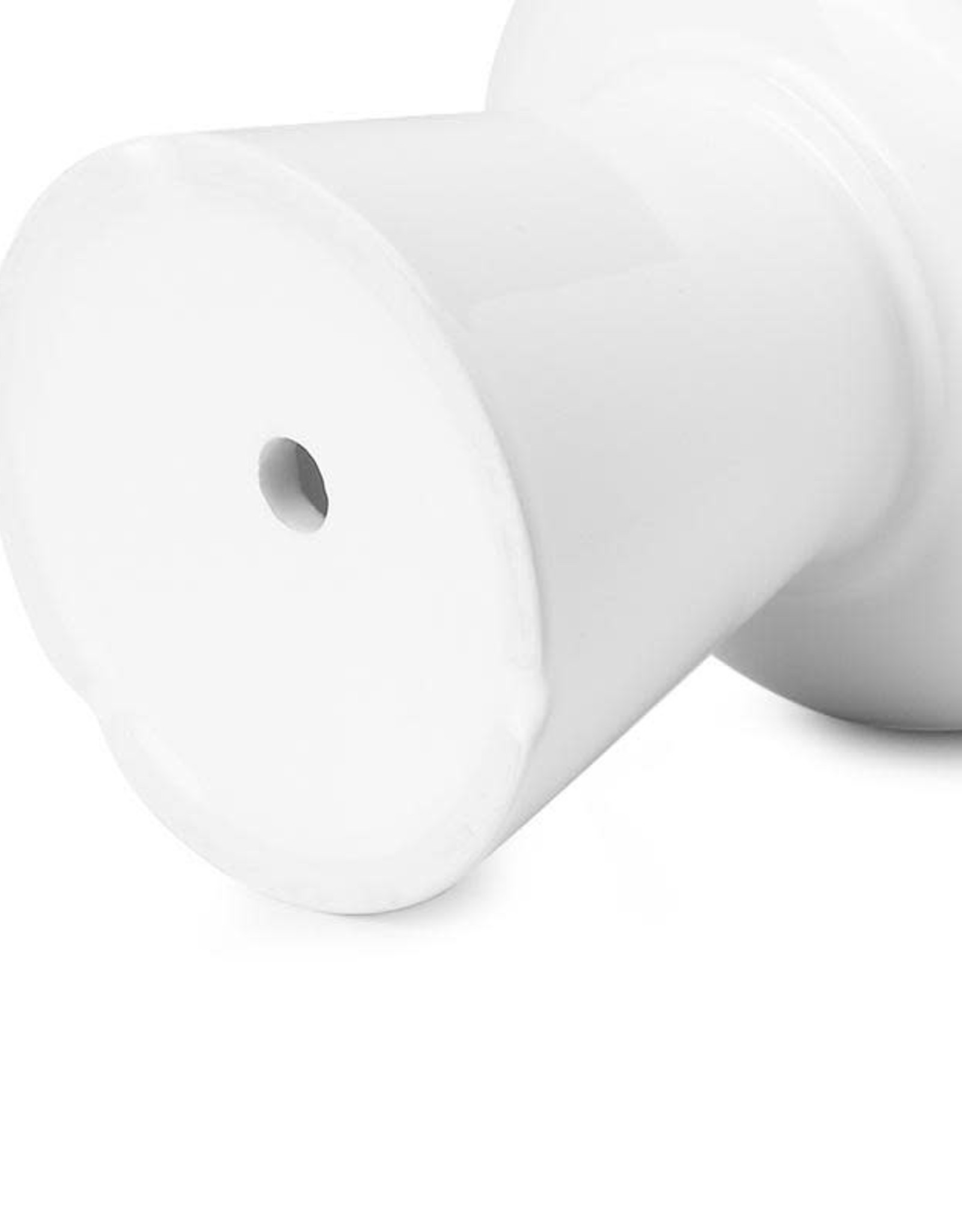 "Potey 4.9"" Modern White Ceramic Pot"