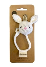 Cheengoo Cheengoo | Bunny Pacifier Clip