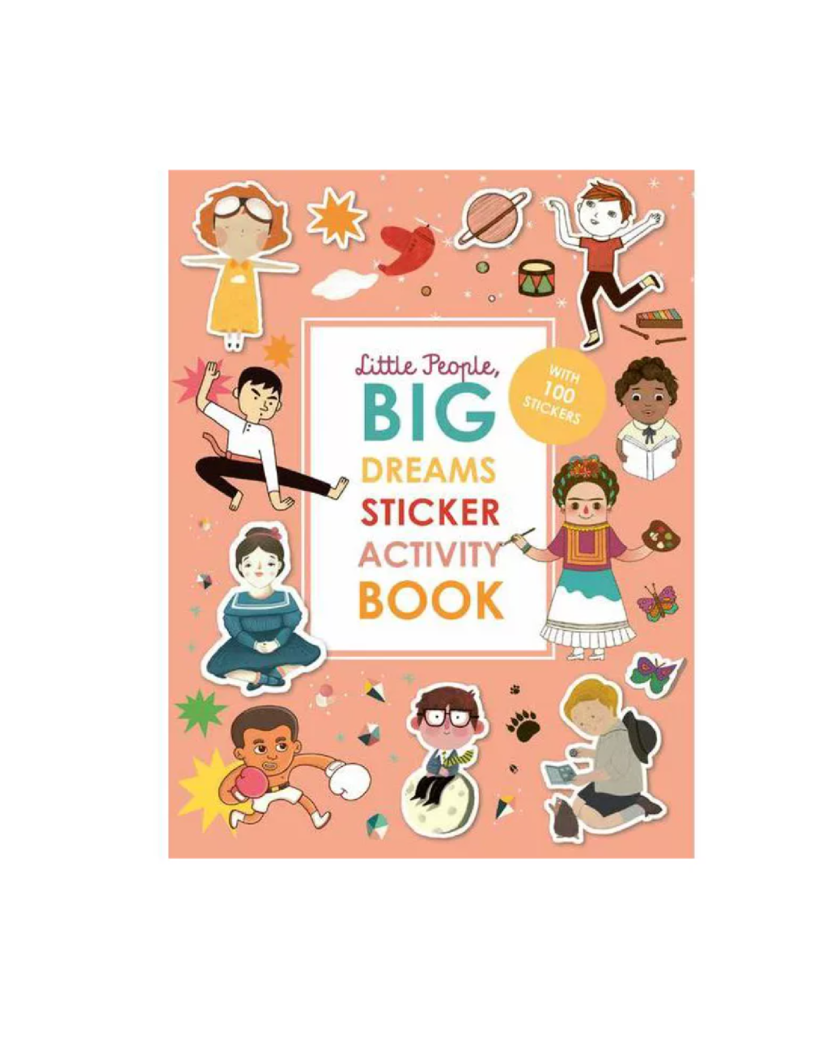 Hachette Little People, Big Dreams Sticker Activity Book