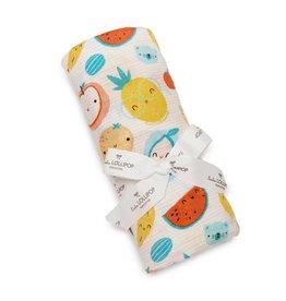 Loulou Lollipop Loulou Lollipop | Muslin Cutie Fruits Swaddle