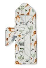 Loulou Lollipop Loulou Lollipop   Safari Jungle Hooded Towel Set