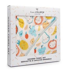 Loulou Lollipop Loulou Lollipop | Cutie Fruit Hooded Towel Set