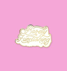 Holly Oddly Barely Functioning  Enamel Pin