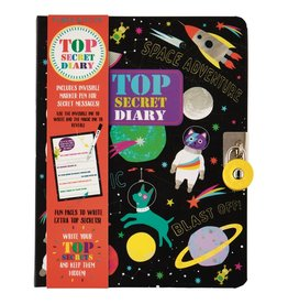 Floss and Rock Space Top Secret Lockable Diary