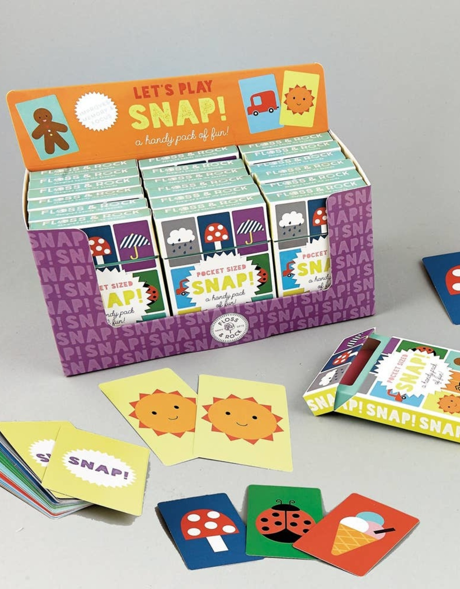 Floss and Rock Floss and Rock | Snap Card Game