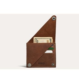 Kiko Leather Leather Wing Fold Card Case