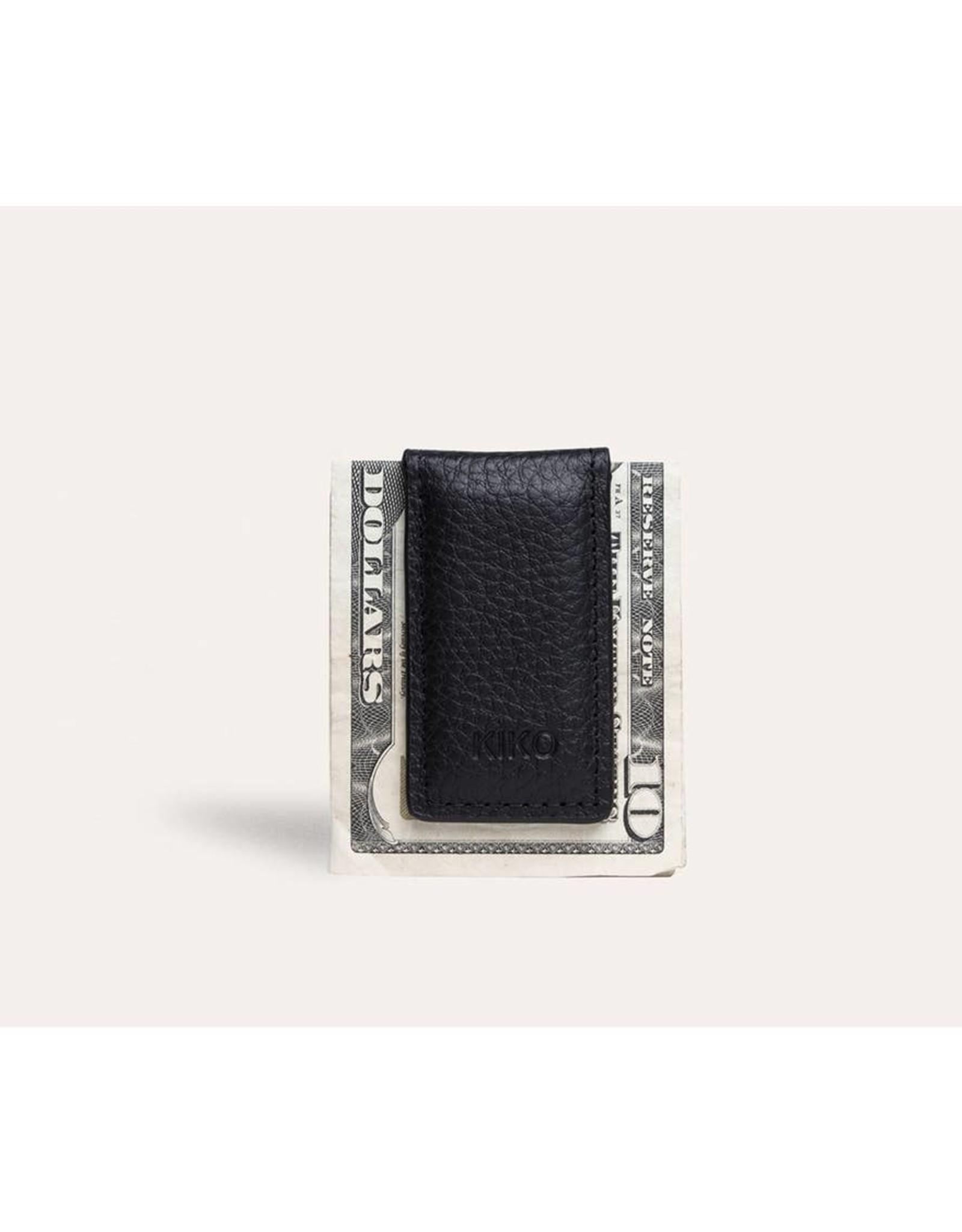 Kiko Leather Kiko Leather | Black Magnetic Money Clip