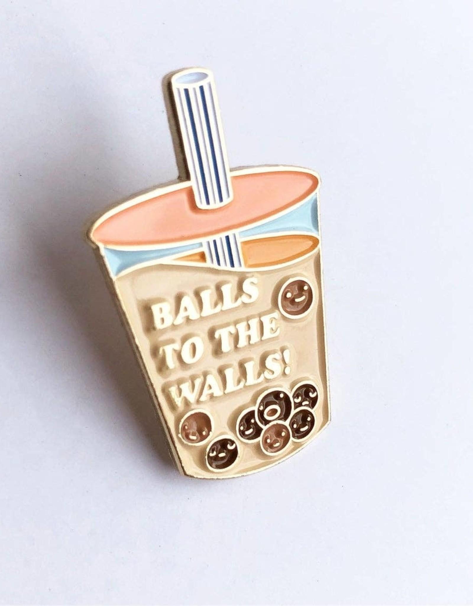ilootpaperie ilootpaperie  Balls to the Walls Enamel Pin