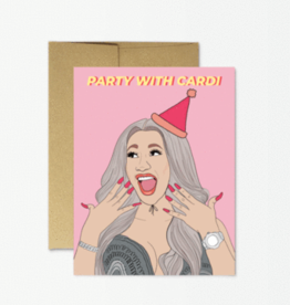 Party Mountain Paper Co Party Cardi Birthday Card