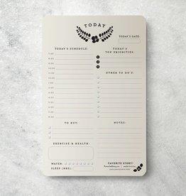 Favorite Story Laurel Daily Planner Notepad