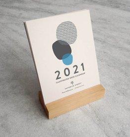 Favorite Story 2021 Abstract Desk Calendar