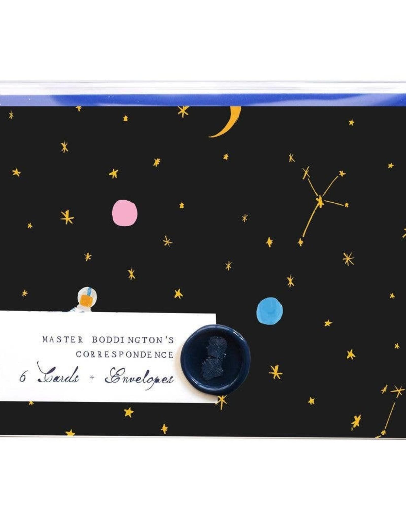 Mr. Boddington's Mr. Boddington's | Where is Jupiter Box of 6 Notecards