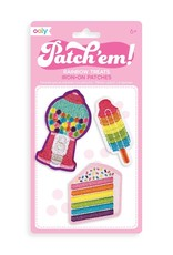 Ooly Ooly | Patch 'em Iron-on Patches: Rainbow Treats